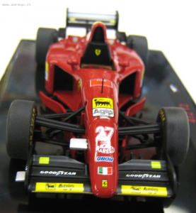 Ferrari 412 T2  Elite Hot Wheels 1/43
