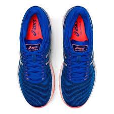Asics gel Nimbus 22 blue silver scarpe running uomo