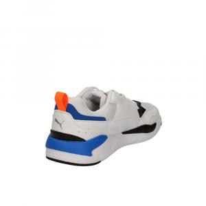 Puma X-Ray Square PS Arancio Bianco Blu Junior