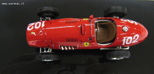 Ferrari 500F2 1/43 Elite Hot Wheels #102 Die Cast Model