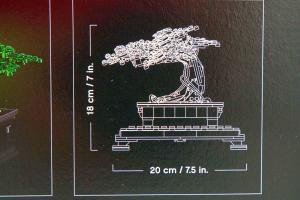 Lego Bonsai Tree Botanical Collection