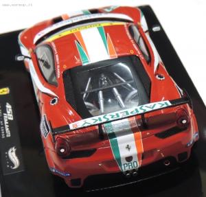 Ferrari F458 Italia Gt2 Lm2011 Af Corse 1/43 Elite Hot Wheels