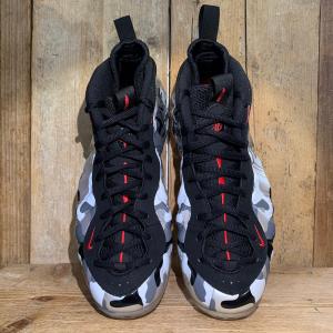 Scarpa Nike Air Foamposite One Premium Camo Nera e Grigia