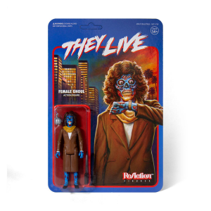 *PREORDER* Essi Vivono - They Live ReAction Action Figure: FEMALE GHOUL by Super7