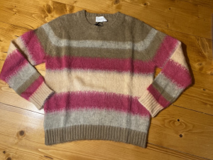 Pull  mohair Righe Vicolo