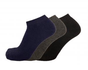 Fantasmino donna alla caviglia caldo cotone termico invernale VIRTUS
