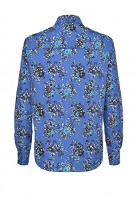 Camicia Smorzare 15 in crêpe de Chine floreale Pinko