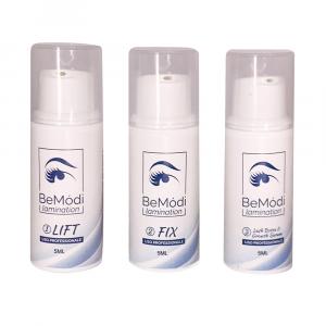 Kit completo para laminación de pestañas y cejas BeModi, 5 ml