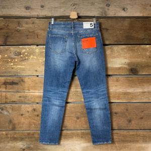 Jeans Department 5 Drake Blu Medio Basico
