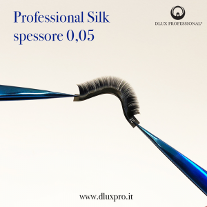 Ciglia per Extension 0,05 mm Professional Silk, DLux Professional