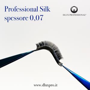 Pestañas para extensiones 0,07 mm Professional Silk, DLux Professional