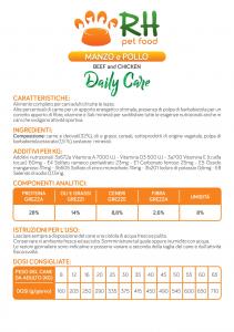 Manzo e pollo Daily Care