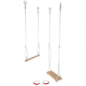 Set altalena trapezio e anelli ginnastica 3 in 1