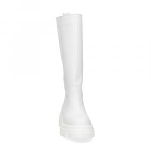 Il Laccio Stivale B61 pelle bianca-3