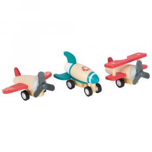 Set di aerei con carica