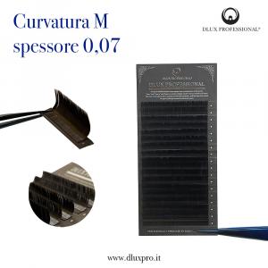 Pestañas para extensiones  M0,07mm DLux Professional