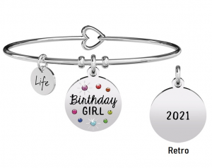 Kidult Bracciale Special Moments, Birthday Girl