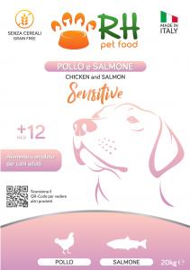 Pollo e Salmone Sensitive