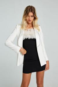Giacca blazer Zoe bianco Aniye By