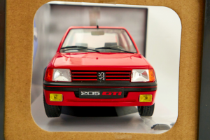 Peugeot 205 Gti Mk1 Red 1/18 Solido