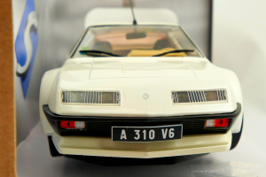 Alpine A310 Pack Gt White 1/18 Solido