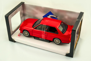 Bmw E30 M3 1986 Red 1/18 Solido