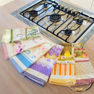 Canovacci cucina spugna Violette