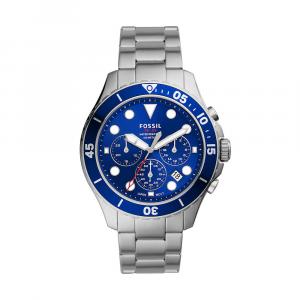 Orologio Uomo Cronografo FB-03 in acciaio