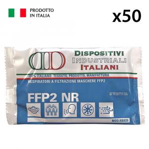 50 MASCHERINE PROTETTIVE FFP2 DPI III CATEGORIA