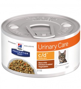 Hill's - Prescription Diet Feline - c/d Stew - 82g x 6 lattine