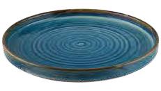 Teller flach Bonna' Sapphire (12stck)