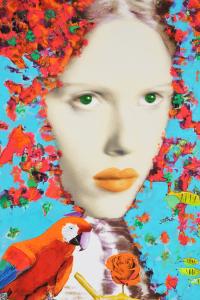 Delasco Pietro Eden 1 Serigrafia Formato cm 80x80