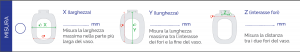 SEDILE WC TERMOINDURENTE D019 CON DOPPIA CERNIERA                      Bianco