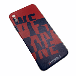 COVER WE ARE ONE ROSSOBLÙ Bologna Fc