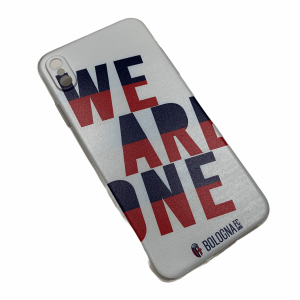 COVER WE ARE ONE BIANCA Bologna Fc