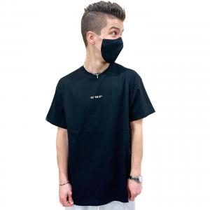 T-Shirt Propaganda Ribs 2Pac Black