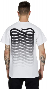 T-Shirt Propaganda Ribs White Black