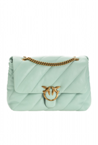PINKO SHOPPING ON LINE PINKO BORSA BIG LOVE BAG PUFF MAXI QUILT  NEW COLLECTION SPRING SUMMER 2021