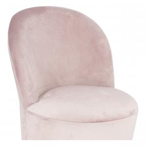 Poltroncina Glamour Rosa Cipria