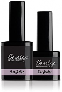 Smalto Semipermanente Base/Top La Jolie 12 ml