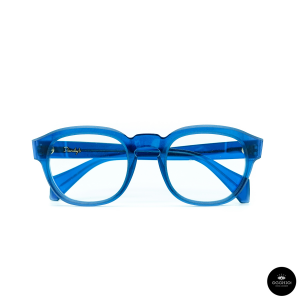 Dandy's eyewear Eraclito Blu trasparente, Rough version