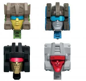 *PREORDER* Transformers Generation - Deluxe Retro Action Figure: HEADMASTERS SERIE COMPLETA by Hasbro