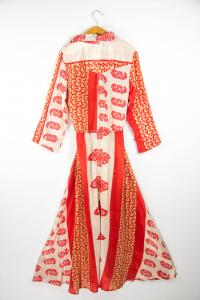 Abito lungo indiano   abbigliamento stile etnico