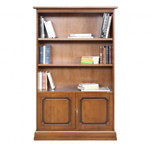 Klassisches Bücherregal Massivholz Jolly