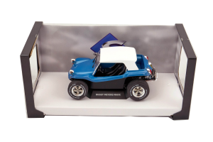 Buggy Meyers Manx Blue Soft Roof 1/18 Solido
