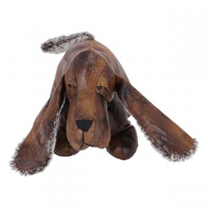 Fermaporta in ecopelle cane bassotto