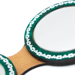 Porta specchio doppio Clarice