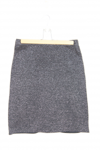 Gonna corta nera con paillettes | Moda Abbigliamento online Casual Chic