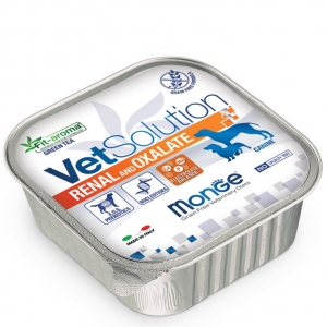 Monge - VetSolution Canine - Renal and Oxalate - 150g x 24 vaschette