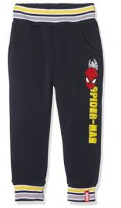 Pantalone Spiderman bambino interno felpato 2-3 anni